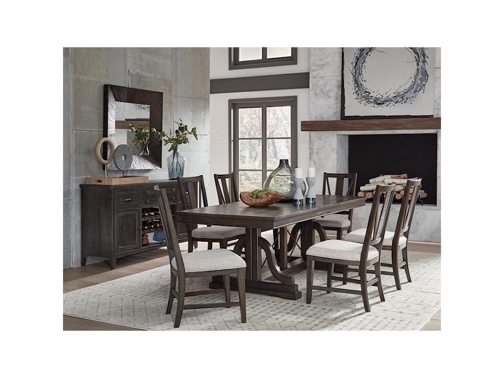 Magnussen Home Westley Falls7-Piece Dining Set