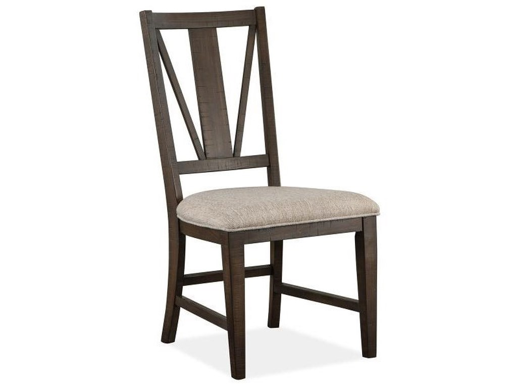 Magnussen Home Westley FallsDining Side Chair w/ Upholstered Seat