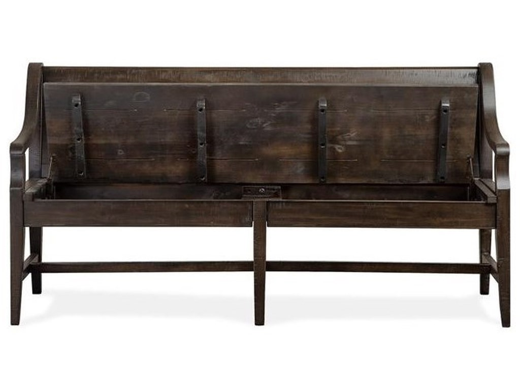 Magnussen Home Westley FallsBench w/Back