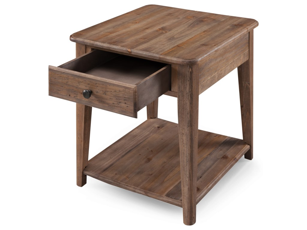 Magnussen Home BaytowneRectangular End Table