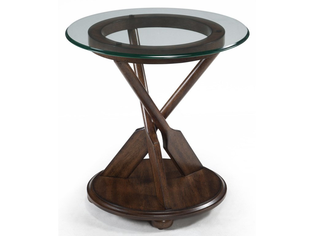 Magnussen Home BeaufortRound End Table