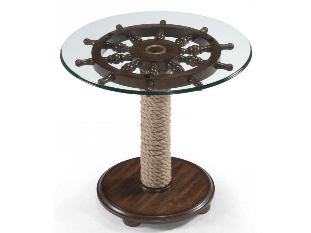 Magnussen Home BeaufortRound Accent Table