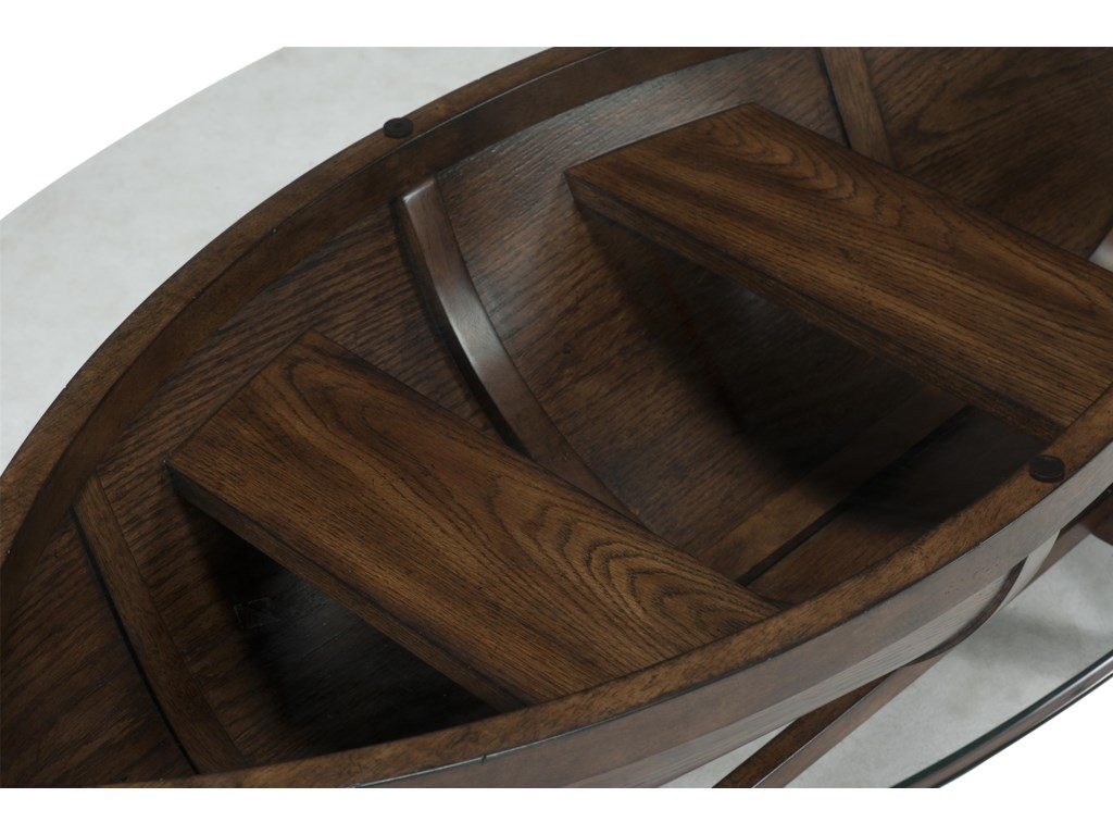 Magnussen Home BeaufortOval Cocktail Table
