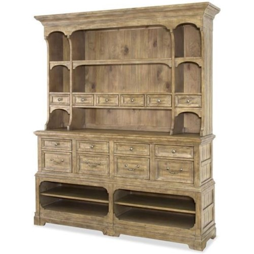 Magnussen Home Graham Hills Sideboard With Hutch