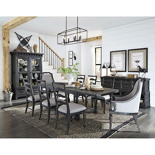 Magnussen Home Bedford Corners Formal Dining Room Group