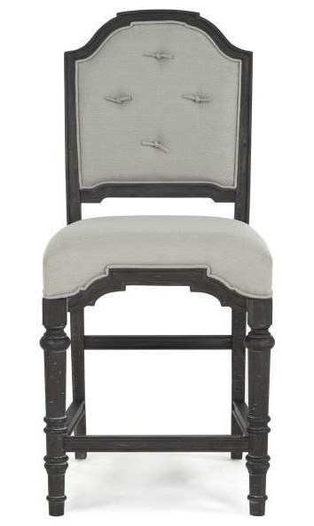 Magnussen Home Bedford CornersRound Table, 2 Host Chairs 2 Side Chairs