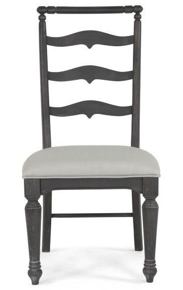 Magnussen Home Bedford CornersRound Dining Table With 4 Side Chairs