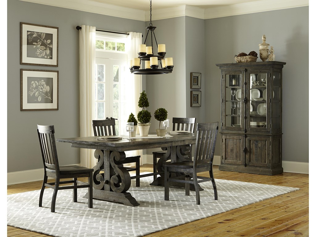 Magnussen Home Bellamy5 Pc Formal Dining Set