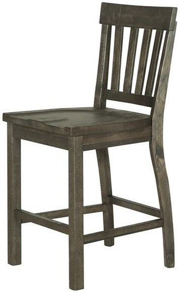 Magnussen Home Bellamy Counter Stool with Slat Back