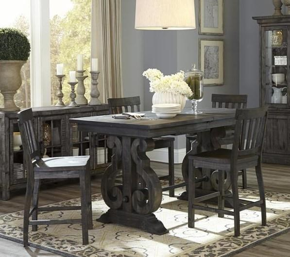 Exceptional Magnussen Home BellamyCounter Table Set ...