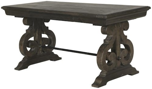 Magnussen Home Bellamy Writing Desk with Drawer