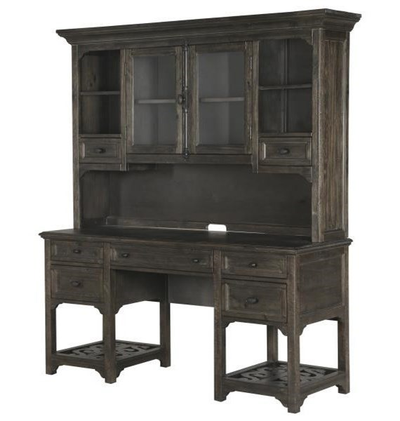 Magnussen Home BellamyDesk and Hutch