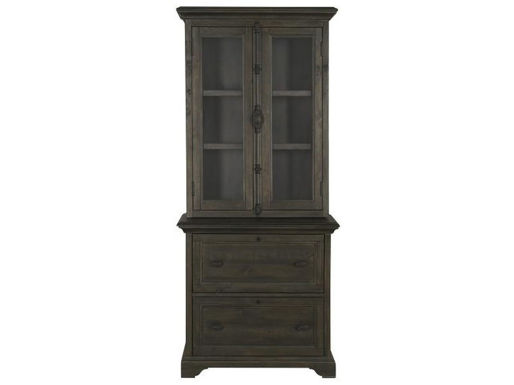 Magnussen Home BellamyLateral File With Hutch