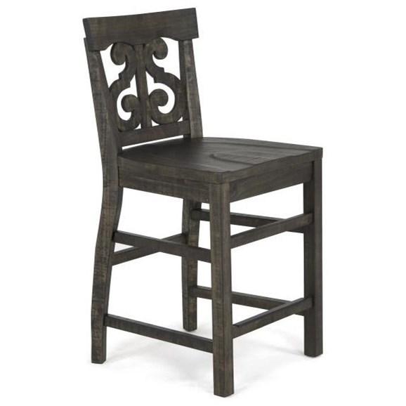 Magnussen Home BellamyCounter Height Desk Chair ...