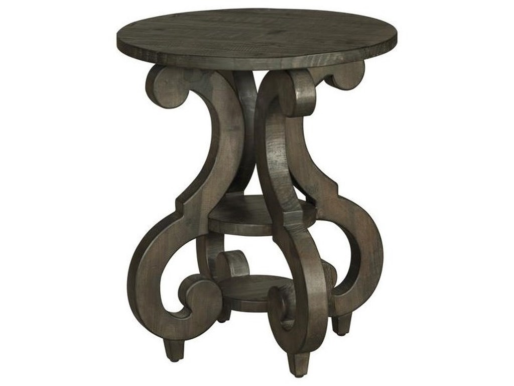 Magnussen Home BellamyRound Accent End Table