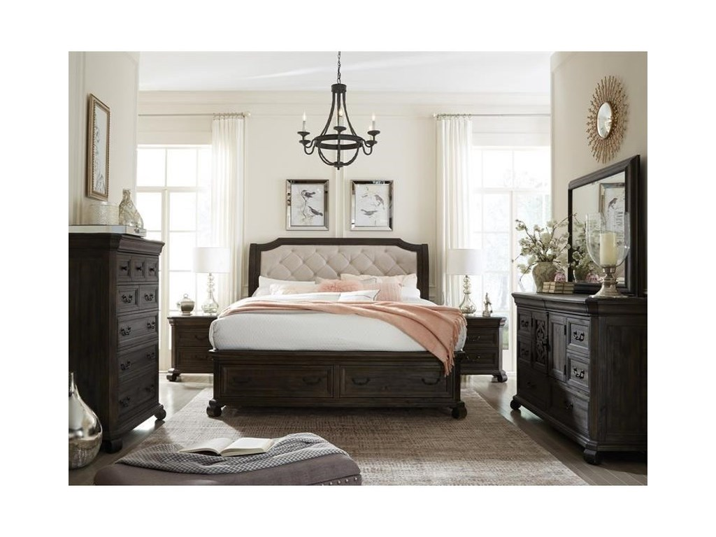 Magnussen Home BellamyQueen Storage Bedroom Group