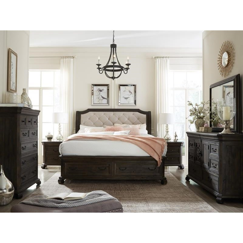 Magnussen Home BellamyCalifornia King Storage Bedroom Group