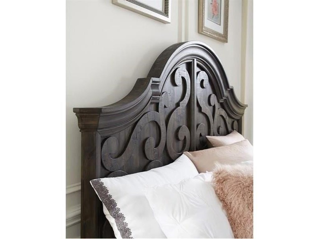 Magnussen Home BellamyQueen Shaped Panel Bed