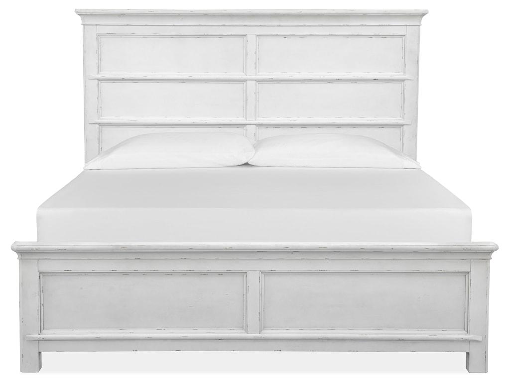 Magnussen Home Bellevue ManorCal King Panel Bed