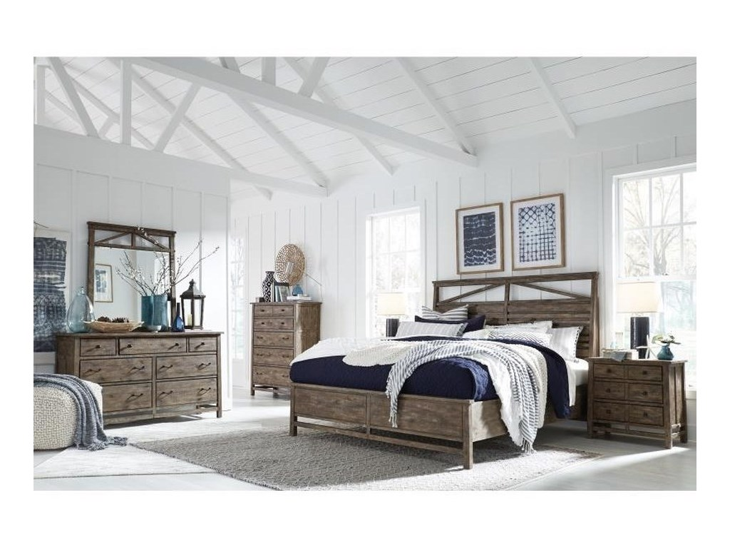 Magnussen Home Bluff HeightsCalifornia King Bedroom Group