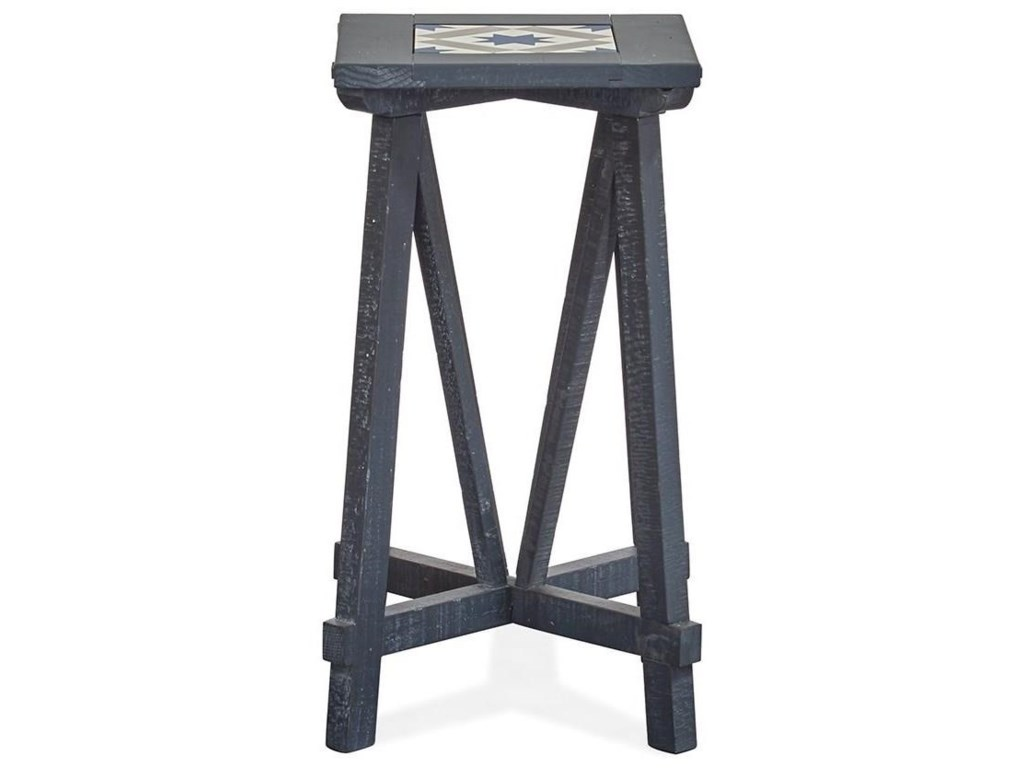 Magnussen Home Lake HavenSquare End Table