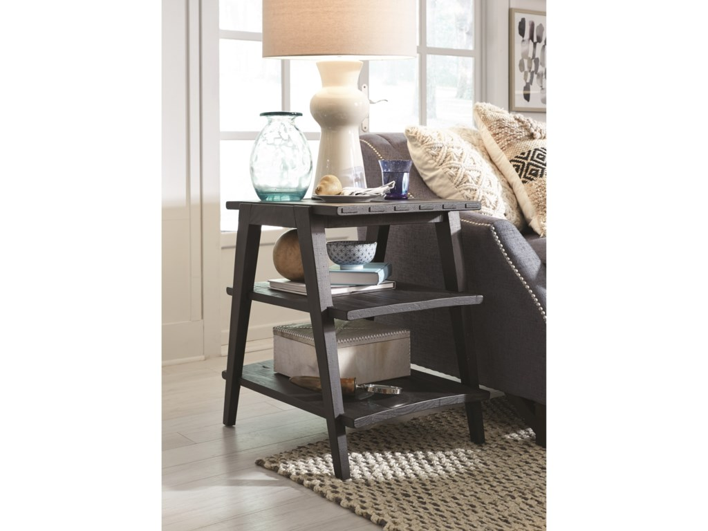 Magnussen Home Lake HavenShelf End Table