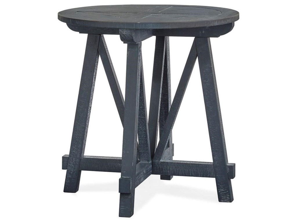 Magnussen Home Lake HavenRound Accent Table
