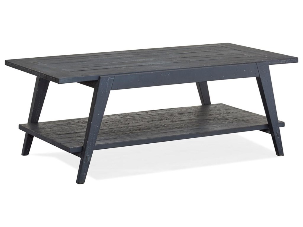 Magnussen Home Lake HavenShelf Cocktail Table