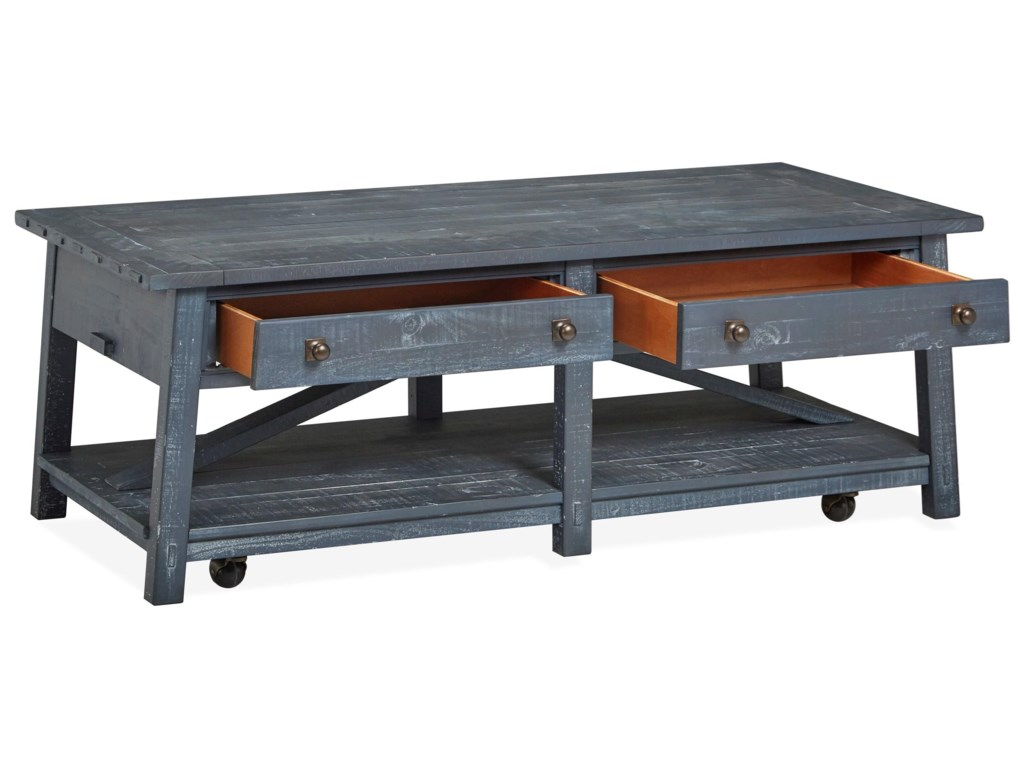 Magnussen Home Lake HavenRectangular Cocktail Table