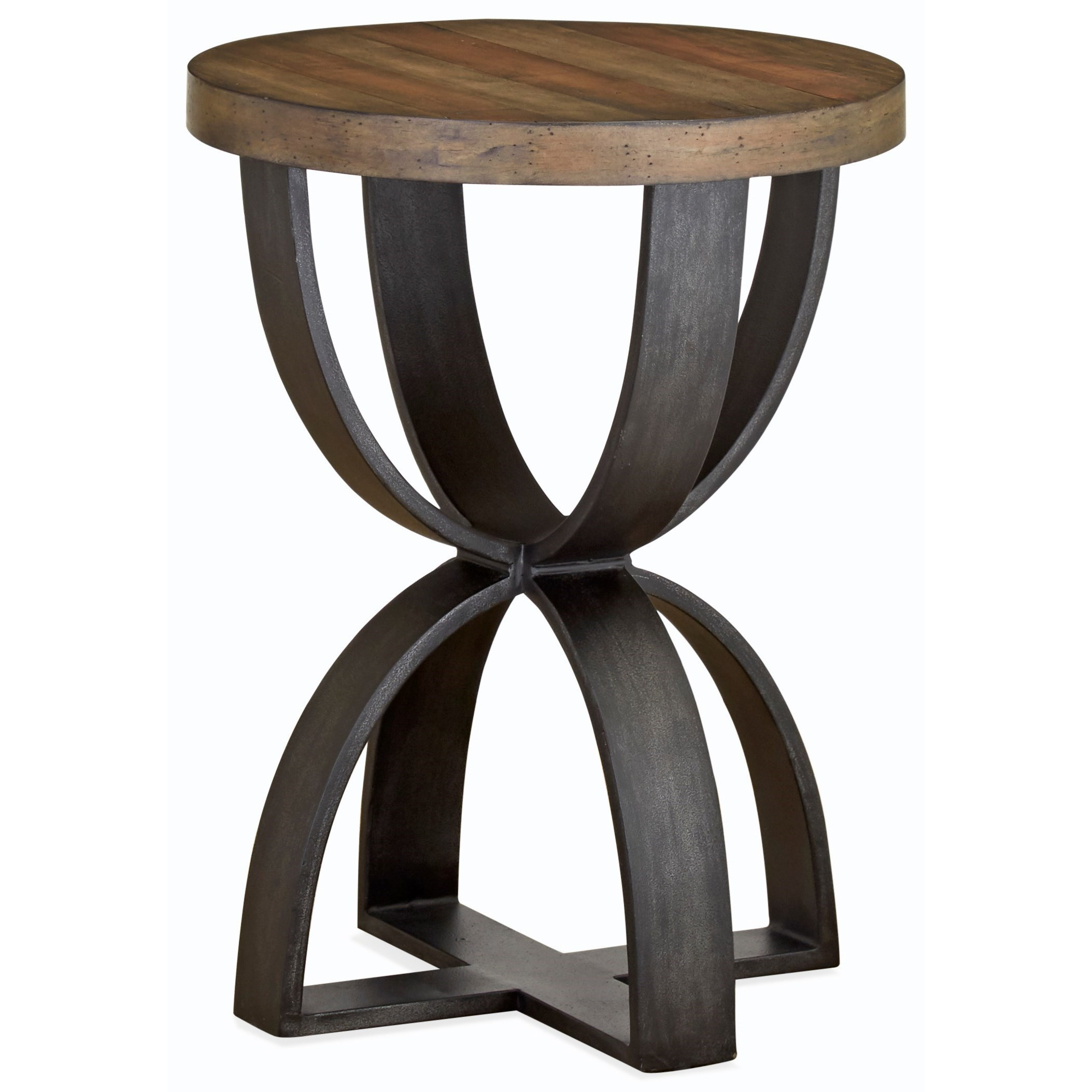 Magnussen Home Bowden Round Accent Table ...