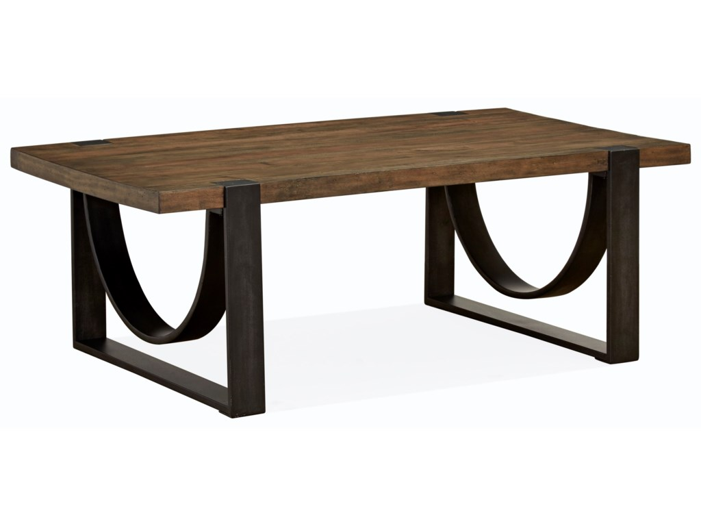 Magnussen Home Bowden Rectangular Cocktail Table