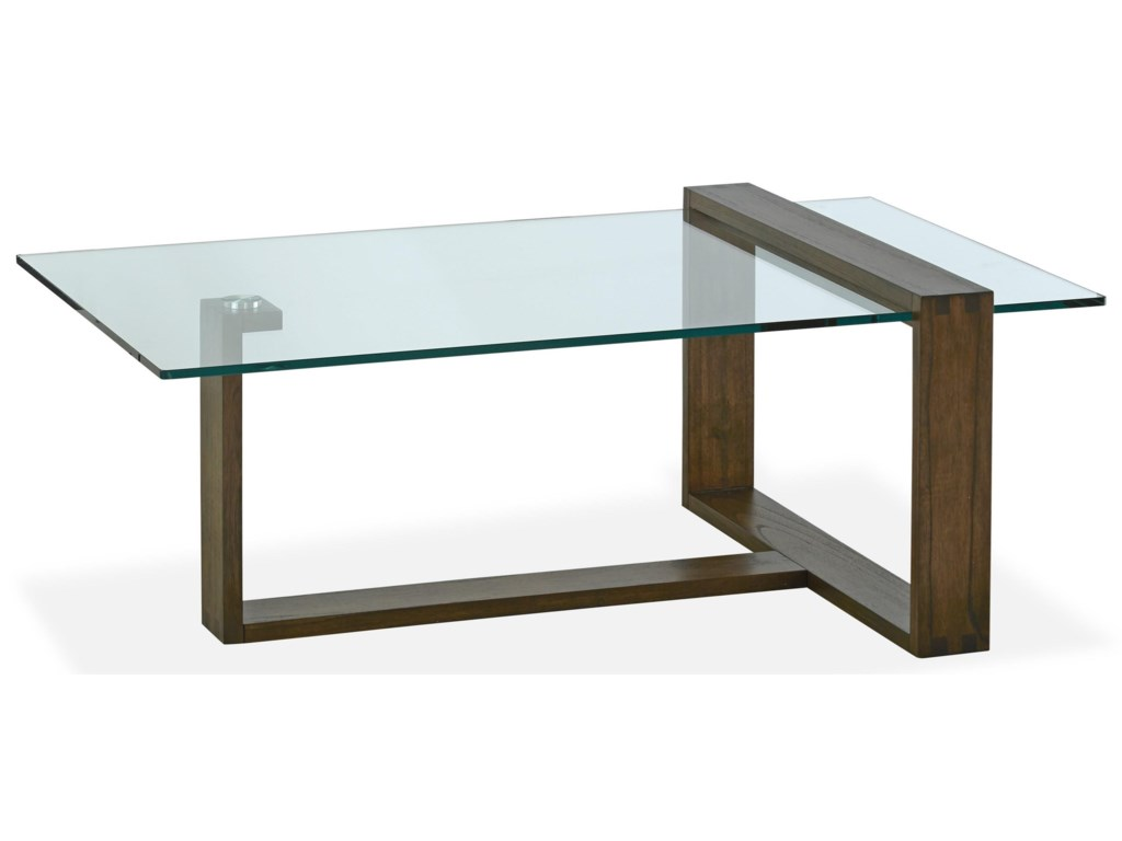 Magnussen Home BristowCocktail Table with 2 End Tables