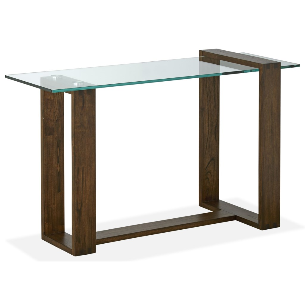 Magnussen Home Bristow Contemporary Rectangular Sofa Table With