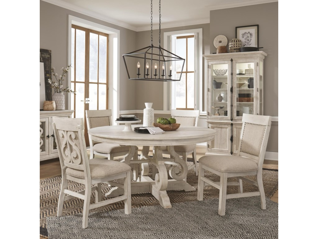 Magnussen Home Bronwyn5-Piece Dining Table Set