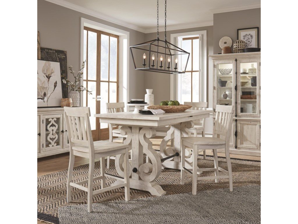 Bronwyn 9 Piece Counter Height Dining Table Set