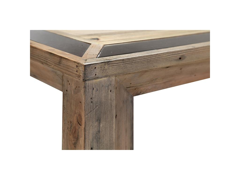 Magnussen Home Rectangular End Table