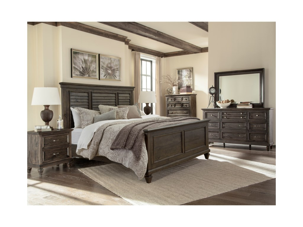 Magnussen Home CalistogaQueen Bedroom Group