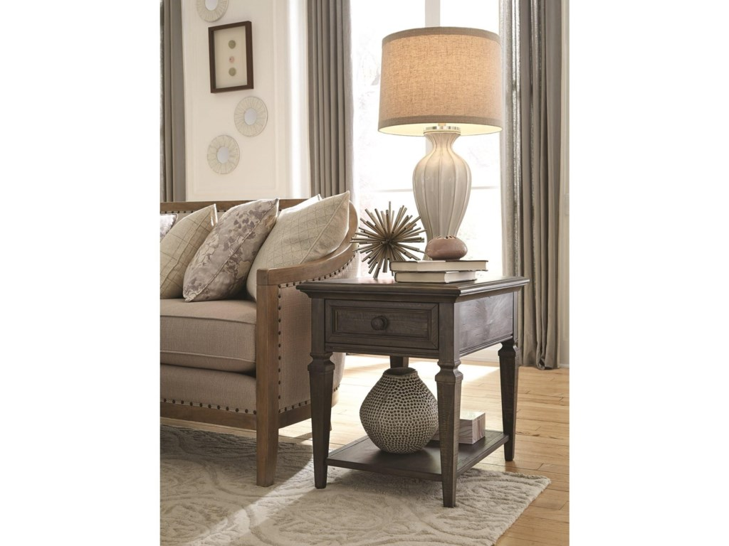 Magnussen Home CalistogaEnd Table