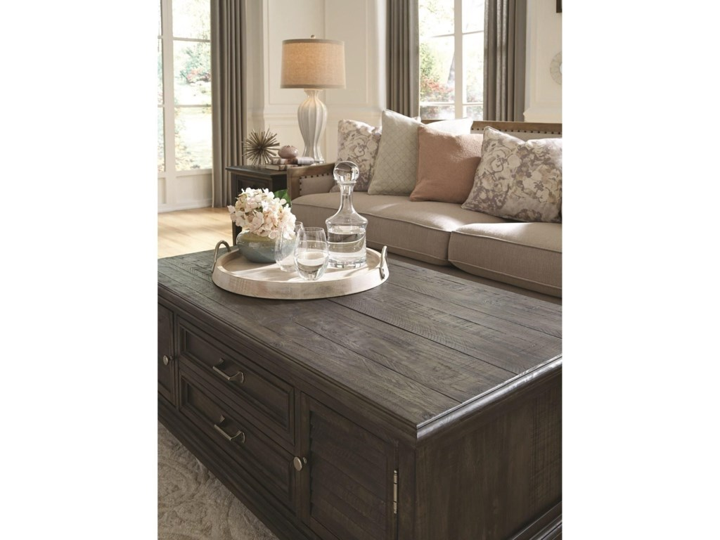 Magnussen Home CalistogaStorage Cocktail Table