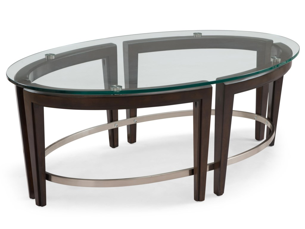 Magnussen Home CarmenOval Cocktail Table
