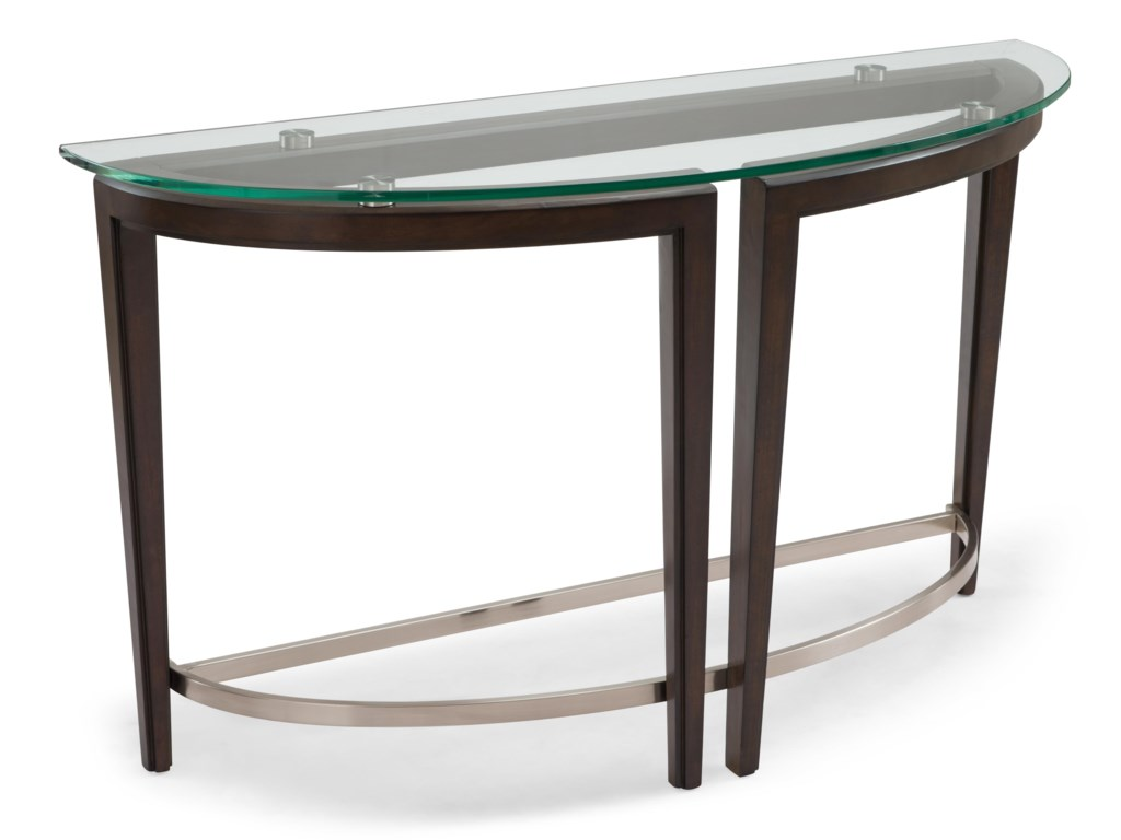 Magnussen Home CarmenDemilune Sofa Table
