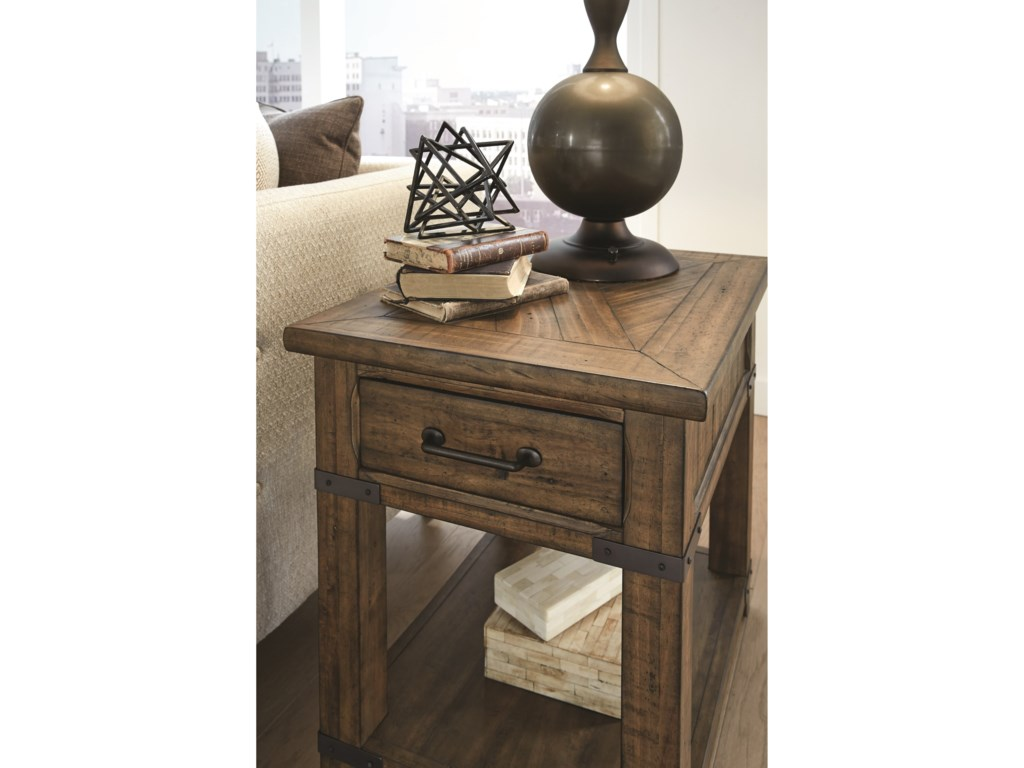 Magnussen Home ChesterfieldEnd Table