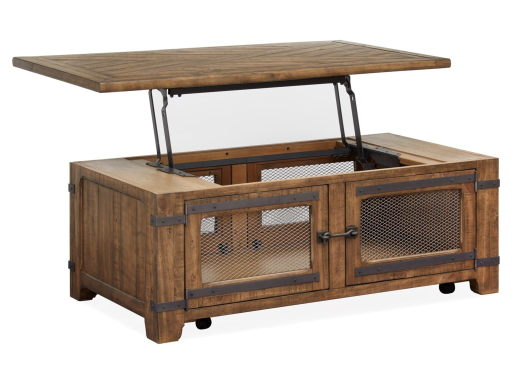 Magnussen Home ChesterfieldCocktail Table