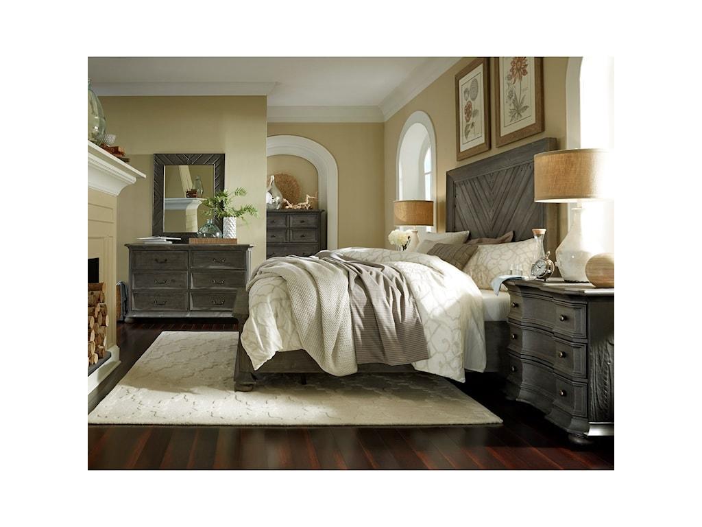 Magnussen Home CheswickQueen Storage Bed