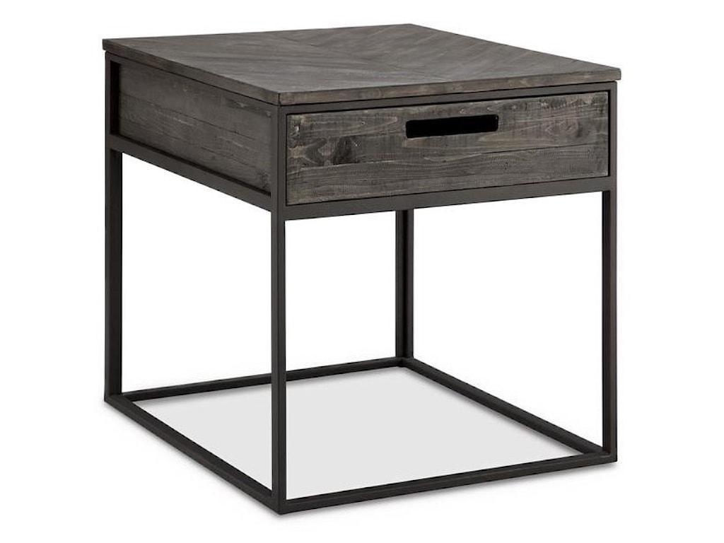 Morris Home Furnishings TraverwayRectangular End Table