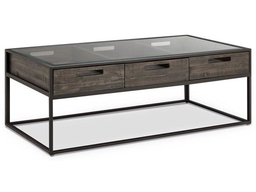 Glass Top Coffee Table With Storage 11