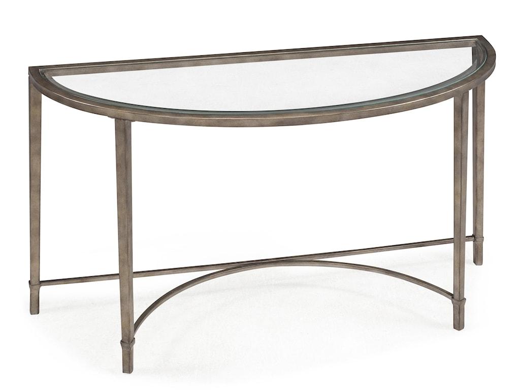 Magnussen Home CopiaDemilune Sofa Table