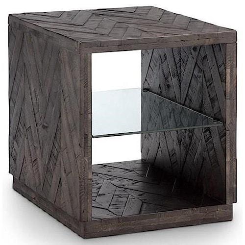 Magnussen Home Darwyn Modern Rectangular End Table