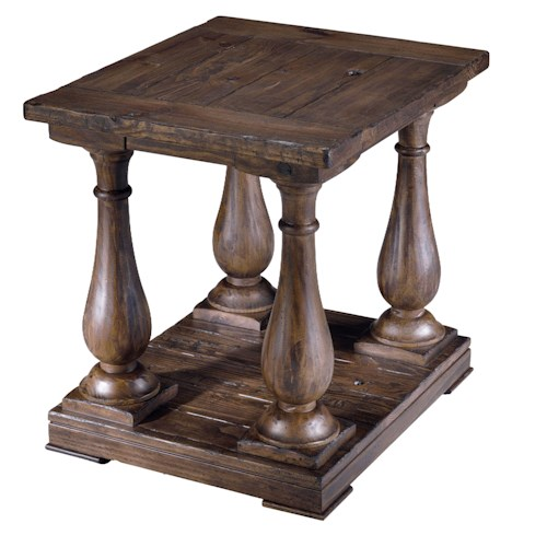 Belfort Select Croyden Rectangular Column End Table