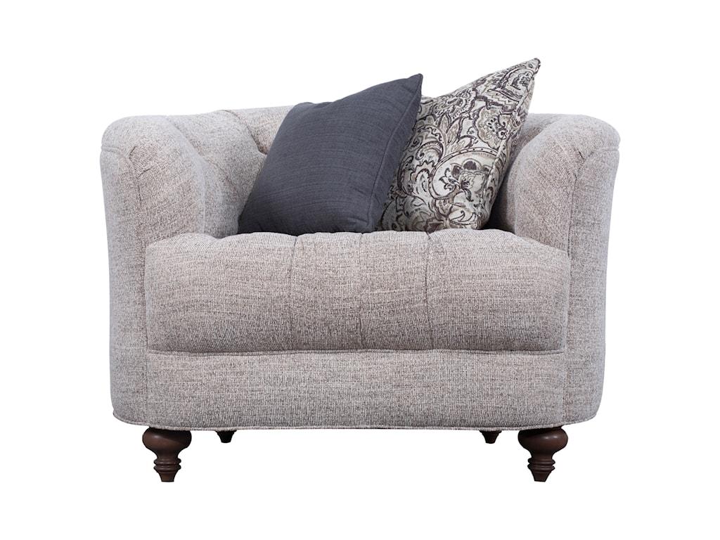 Magnussen Home DesserayTraditional Chair